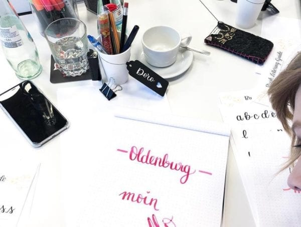 Lettering Workshop Blogger Special